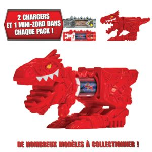 POWER RANGERS - Pack de 2 dino chargers + 1 mini zord - 43250