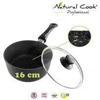 Natural Cook Professionnel - Casserole en pierre granité et céramique 16cm - tous feux