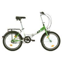 KS CYCLING - Vélo pliant 20'' FX 300 vert TC 30 cm