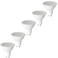 Nityam - Lot de 5 ampoules Led Spot Gu10 4W 300 Lumens - Couleur Chaude 3000K - Classe énergétique A