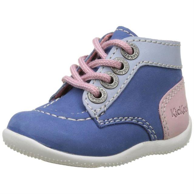 Kickers - Bonbon filles 446824 Bleu bleu clair rose - 20 - pas cher Achat    Vente Boots, bottines - RueDuCommerce 5174706d3e3a
