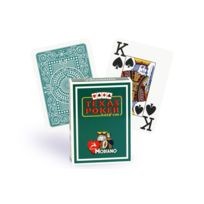 Modiano - Cartes Texas Poker 100% plastique vert