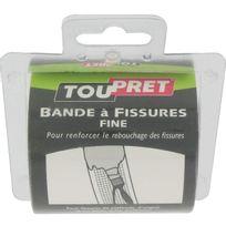 Toupret - Bande à fissure fine non adhésive Long.20m Larg.80mm