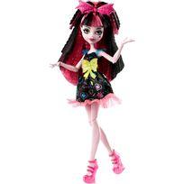 Mattel - Poupée Monster High : Coiffure électrisante : Draculaura