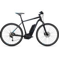 Cube - Vélo Électrique Cross Hybrid Pro 400 Black´n´blue 2017 54 Cm