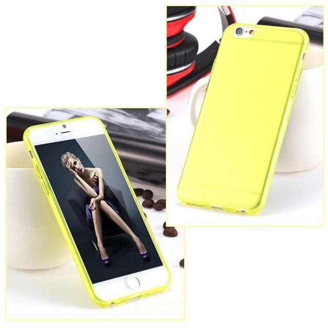 coque iphone 6 jaune apple