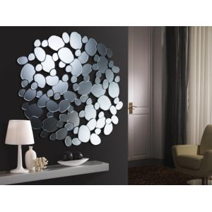 schuller miroir original design petra round mirror pas cher achat vente miroirs. Black Bedroom Furniture Sets. Home Design Ideas