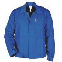 Sacla - Veste de travail bleu bugatti 100% coton T 44/46