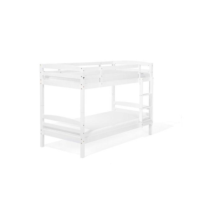 BELIANI Lit mezzanine blanc REGAT - blanc