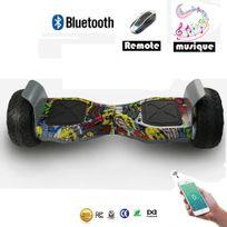 Cool&FUN Hoverboard Bluetooth Tout terrain, gyropode 8.5 pouces Model Hummer-board Hip-hop design
