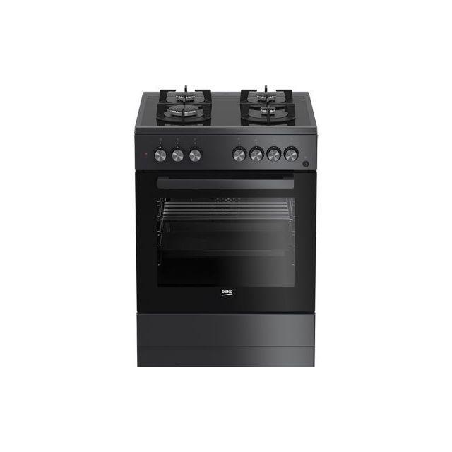 beko cuisini re mixte fse62110dacs achat vente cuisini re chaleur tournante pas cher. Black Bedroom Furniture Sets. Home Design Ideas