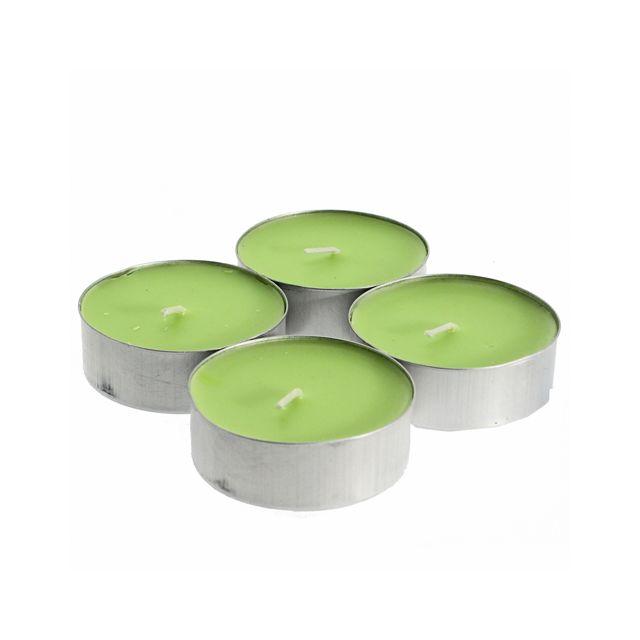 Comptoir Des Bougies Lot de 4 bougies parfumées Fruit - Melon