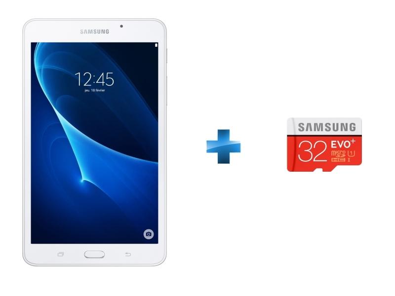 Galaxy Tab A6 - 7'' HD - 8 Go - Blanc