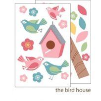 Forwalls - Stickers Muraux Motif Maison Et Oiseaux