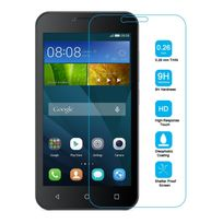 Cabling - Film vitre de protection écran Huawei Y5 en verre trempé haute transparence et ultra résistant incassable, inrayable 9H, et Ultra Slim 0,26mm, avec bords arrondis, pour une protection optimal de votre téléphone Ascend Y560
