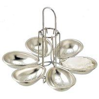 La Bonne Graine - combrichon - manège de 6 pocheuses à oeufs métal - nc50.326.00