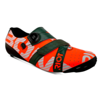 Bont - Chaussures Riot+ Road Boa rouge vert