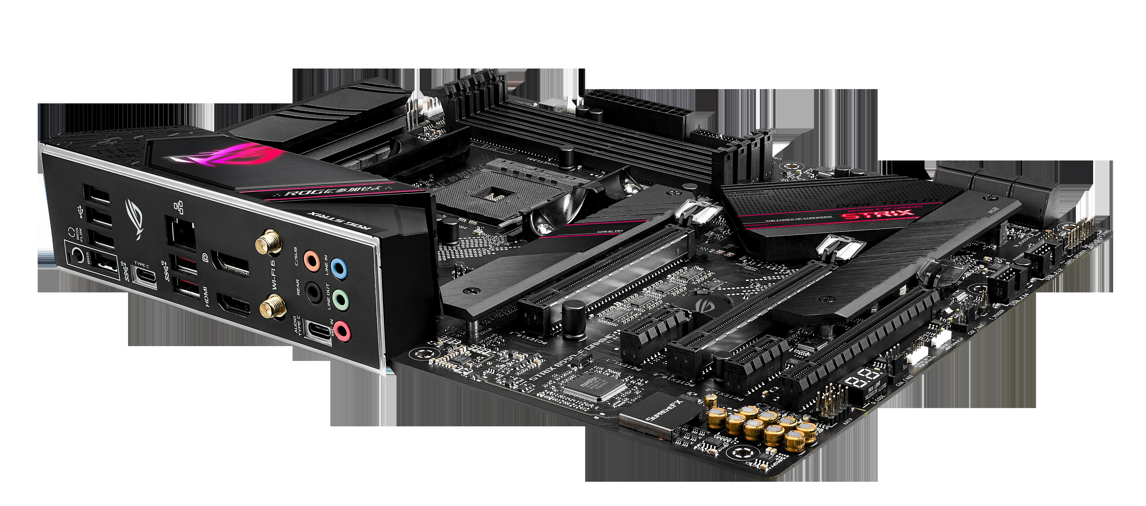 Carte mère B550-E ROG Strix Gaming Asus