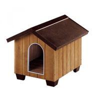 Ferplast - Niche Domus pour chiens Large Longueur 84,5 cm Profondeur 102 cm Hauteur 83 cm