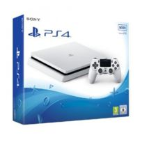 SONY - Console PS4 SLIM 500Go châssis E Blanche