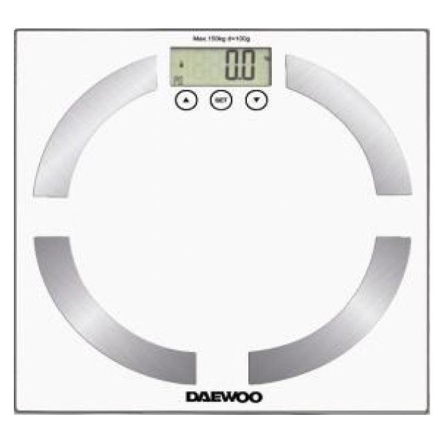 DAEWOO Pèse-personne blanc DBS-6025