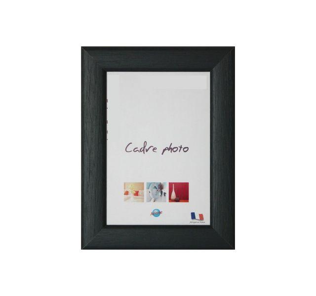ariane cadre photo 13x19 cm moulure en bois gris 24 mm m plat multicolore 0cm x 0cm pas. Black Bedroom Furniture Sets. Home Design Ideas