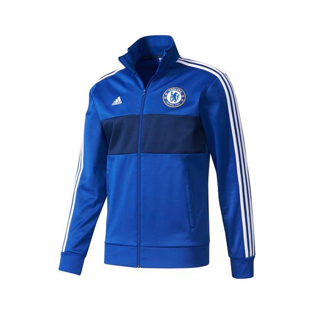 Adidas performance Veste 3s Chelsea Bleu pas cher Achat