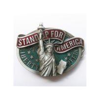 Universel - Boucle de ceinture statue de la liberté rock roll usa mixte