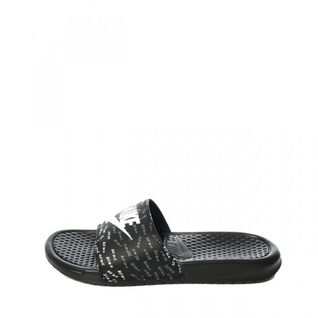 e32dae931446 Nike - Sandales W Benassi Just do it - 618919-017 - pas cher Achat   Vente  Sandales et tongs femme - RueDuCommerce