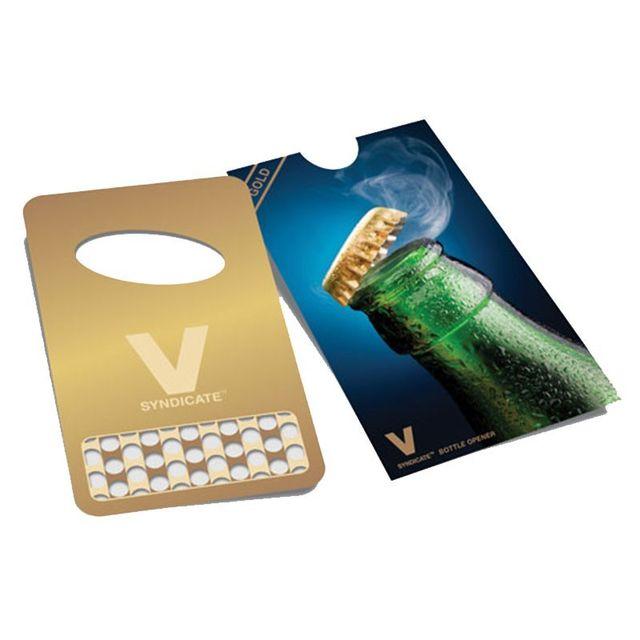V Syndicate Grinder Card Carte Grinder Pop And Grind Gold