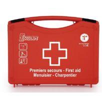 ESCULAPE - Trousse de secours Menuisier Charpentier - Coffret plastique 7221491