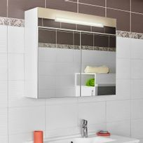 armoire miroir salle de bain lavezzi 80 cm Résultat Supérieur 15 Beau Armoire Miroir De Salle De Bain Galerie 2017 Lok9