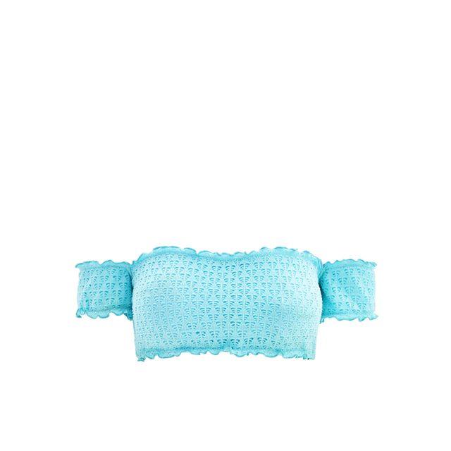 5402d8464e Seafolly - Maillot de bain Bandeau Havana Cold Shoulder Bleu Turquoise 42 -  pas cher Achat / Vente Maillots 2 pièces - RueDuCommerce