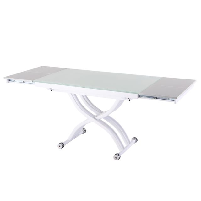 Ego Design Table relevable Reality White Edition
