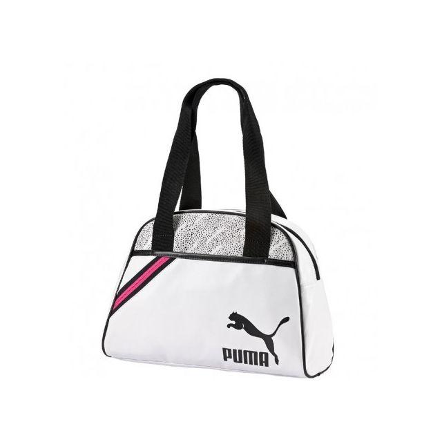 eb312156e4 Puma - Sac à bandoulière Archive Blanc Femme Multicouleur - pas cher Achat  / Vente Besaces et bandoulières - RueDuCommerce