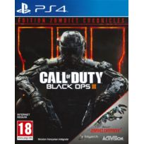 ACTIVISION - Jeu PS4 - Call of Duty : Black OPS 3 + Zombies Chronicles
