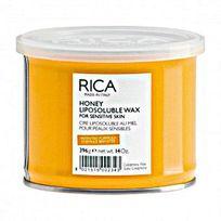 Rica - Cire à épiler liposoluble miel pot 400ml