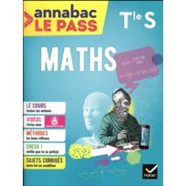 Hatier - annabac le pass ; maths ; Terminale S