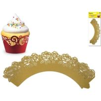 Party Craft - Multicraft Imports Collerettes À Cupcakes Motif Roses