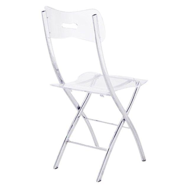 Lot de 2 en pliantes chaises 75 Widow Inside polycarbonate 0wO8nPk