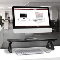 Dm06-1 Réhausseur d'écran/Support pour écran d'Ordinateur/Ordinateur Portable/écran Tv - Surface de 62 x 30 cm - Hauteur de 15 cm