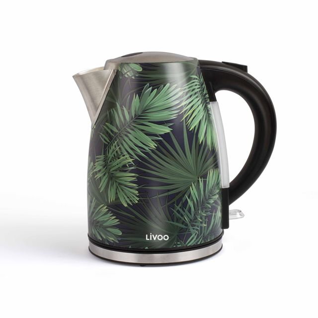LIVOO bouilloire sans fil 1.7l 2200w - dod171