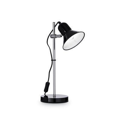 Boutica-design Lampe à poser Polly Noir 1x60W - Ideal Lux - 109114
