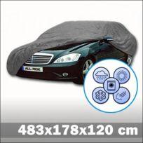 All Ride - Housse De Protection En Polyester Pour Voiture L 483 X 178 X 120 Cm