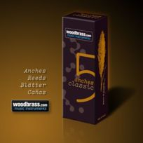 Woodbrass - Clarinettes Acl-4 Anches Clarinette Sib Soldes