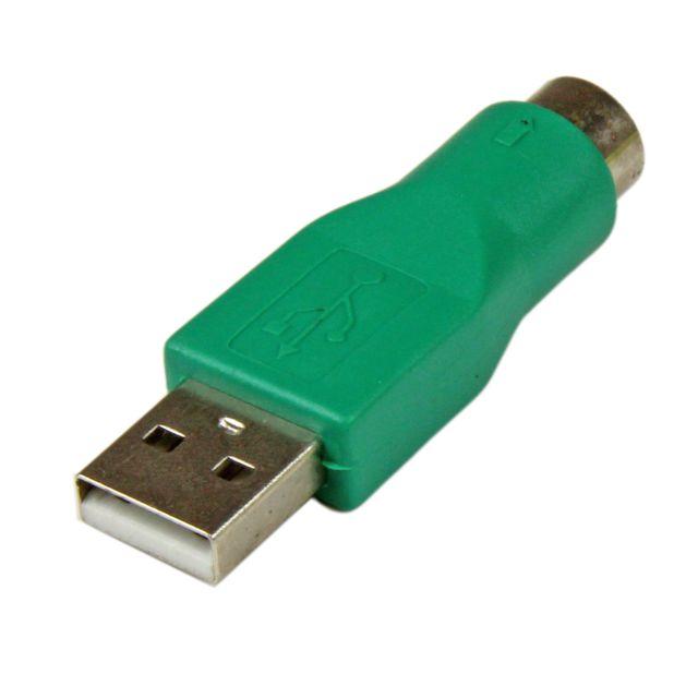 Cabling - Adaptateur Clavier Ps2 femelle vers Usb A mâle, Ps/2 vers Usb