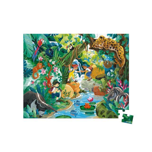 Juratoys-janod Puzzle aventure Incas 100 pieces