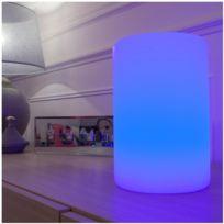 LUMI JARDIN - colonne lumineuse multicolore autonome 24cm - littcol