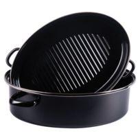 Kochstar - Daubière Ovale 42 cm email noire induction