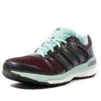save off 827e2 180aa Adidas - Supernova Sequence 7 Femme Chaussures Running Bordeaux  Multicouleur 38 2 3
